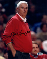 BOBBY BOB KNIGHT SIGNED AUTOGRAPHED 8x10 PHOTO INDIANA BASKETBALL BECKETT BAS