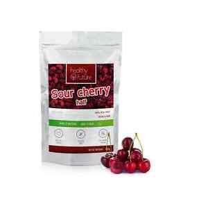 Freeze Dried Sour Cherries Halfs 100% Natural No added sugar No Preservatives