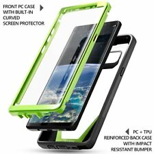 Poetic Guardian Series [Scratch Resistant Back] Case For Galaxy Note 8 Green