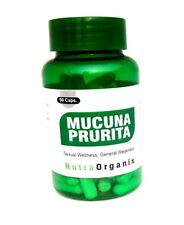Mucuna Pruriens Extract 500mg, 90 Capsules/Bottle $6.90 L-Dopa Velvet Bean( USA)