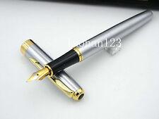 Golden arrow metal Affordable writing fluency hot Fountain pen --baoer388