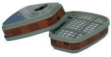 4 Coppie 3M 6055 A2 Vapore Organico Filtri / 6000 SERIE