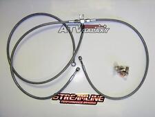 Streamline Braided Front Brake Lines Honda TRX400EX TRX 400EX 1999-2012