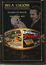 Bela Lugosi Collection, Volume 1: Devil Bat/Scared to Death (DVD, 1999