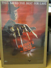 Vintage Freddy'a dead The Final Nightmare 1991 movie poster 10634