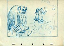 Fantasia Faun concept cel animation Drawing 1940