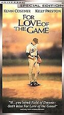 For Love of the Game (VHS, 2000, Special Edition)