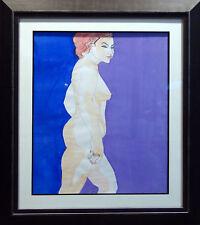 MEL Carter Original Hand Signed Watercolor Painting, Framed, Nice MAKE OFFER!
