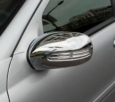 MERCEDES C CLASS W203 COUPE CHROME MIRROR COVERS