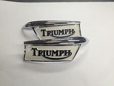 TRIUMPH GAS TANK BADGES EMBLEMS 69-79 500 650 750 economy