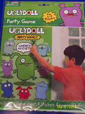 Uglydoll Ugly Dolls Cartoon Kids Birthday Party Supplies Pin the Eyes Party Game
