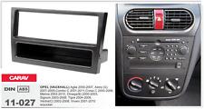 Carav 11-027 1din marco adaptador Opel Astra Combo Omega Tigra Vectra Vivaro