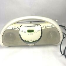 SONY ZS-Y3 CDR/RW CD Player AM/FM Radio Boombox Megabass Audio System White