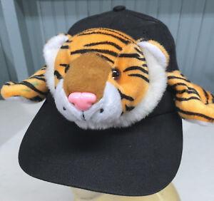 Kids Novelty Tiger One Size Stretch Costume Cap Hat