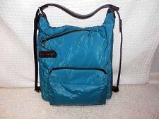 MANDARINA DUCK SLIDE SHOULDER BAG BLU CORAL BLUE BRAND NEW