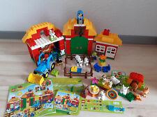 LEGO Duplo Großer Bauernhof 10525, plus 2 Tiersets, 10838, 10522