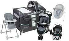 Baby Stroller Car Seat Travel System High Chair Bouncer Infant Playard Combo Set