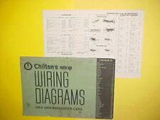 1964 1965 1966 1967 1968 CADILLAC ELDORADO DEVILLE FLEETWOOD WIRING DIAGRAMS