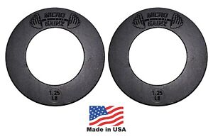 Micro Gainz Pair of 1.25LB of Olympic Fractional Weight Plates, Made in USA