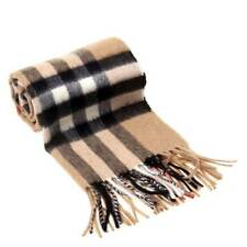 2018 NEW!Brown Burberry The Classic Check Cashmere Scarf Brand New