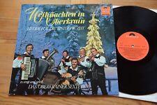 DAS OBERKRAINER SEXTETT Weihnachten in Oberkrain LP Polydor 2440 014