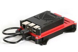 Raspberry Pi 2 3 and 4 HDD SSD 2.5 inch Enclosure VESA TV 100mm Mount Case NAS