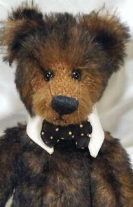 "Rosalie Frischmann ""Mcmurphy"" artist teddy bear LE 12"" Mill Creek Creations"