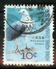 STAMPS HONG KONG CHINA BIRDS 2006 USED CONDITION SG1398 10C SEA EAGLE (1)