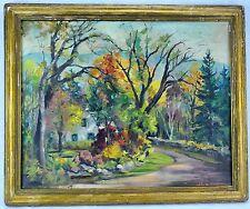 """Alva Glidden (Massachusetts, 1895 - 2000) """"Autumn Landscape. (BI#MK/170819)"""