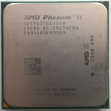 AMD Phenom II x4 965 BLACK EDITION Deneb Quad-Core 4x 3.4 GHz SOCKET am3