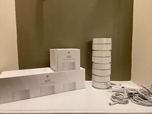 Google Wifi AC1200 Wireless Mesh Router - 4 Pack Model AC-1304