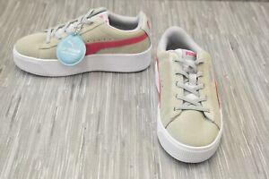 **Puma Vikky Platform AC PS Sneaker, Little Girl's Size 2.5, Gray Violet NEW