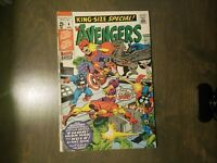 THE AVENGERS ~King Size Special #4 VF-FINE(1971) Marvel comics~