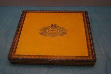 Vintage Flor De Tabacos De Partagas Wooden Cigar Box