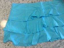 womens Lija tennis skirt Size Xl Nwot turquoise blue