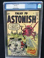 TALES TO ASTONISH #39 CGC 6.5