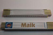 Zollstock mit Namen  MAIK  Lasergravur 2 Meter Handwerkerqualität