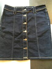 Denim Mini Skirt Size 8
