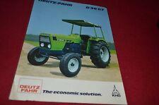 Deutz Fahr D 36 07 Tractor Dealer's Brochure YABE10