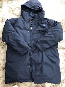 NWT $600 North Face Gortex Stratus Down Parka Urban Navy M Men's Relaxed Fit