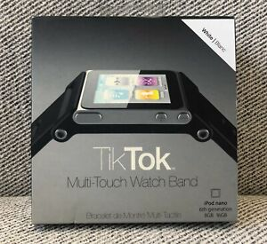 TikTok Multi-Touch Watch Band - iPod nano 6g - White
