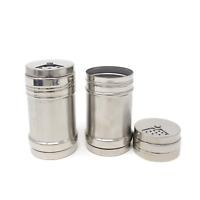 HONBAY 2PCS Stainless Steel Dredge Salt Sugar Spice Pepper Shaker 8541951351