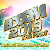 BOOOM 2019 THE FIRST - CALVIN HARRIS/DAVID GUETTA/SAM SMITH/DYNORO/+  2 CD NEU