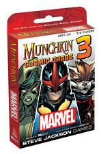 MUNCHKIN® Marvel 3 Cosmic Chaos New 2016 Age 10+