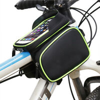 Bicycle Frame Front Tube Bag rainproof two side Pouch Cycling Phone  YuDuI