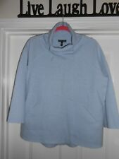 NWT-EILEEN FISHER light blue boiled wool felted jacket STYLSH sz XS FREE SHIP!
