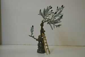 Bronze statue, Olive Tree, Hand made new sculpture.