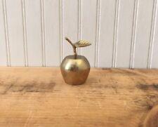 Vintage Brass Bell Apple Bell Teacher Gift Shoolhouse Decor