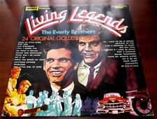 The Everly Brothers  Living Legends 1972  Warwick 5027  Orange Wax UK Impt  VG++