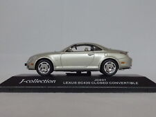 "Lexus SC430 Convertible Top Up ""Silver"" (J-Collection 1:43 / JC031)"